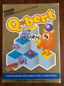 Q*Bert - European Version