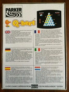 Q*Bert - US  Version