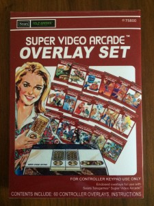 Super Video Arcade - Overlay Set