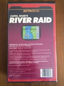 River Raid - Weird box
