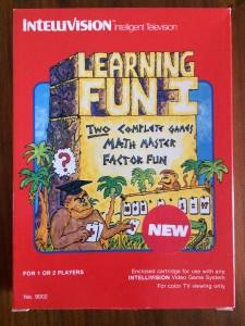Learning Fun I