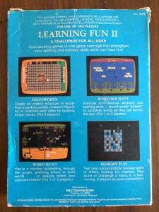 Learning Fun II - Back