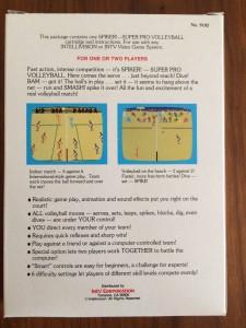 Spiker Super Pro Volleyball - Back