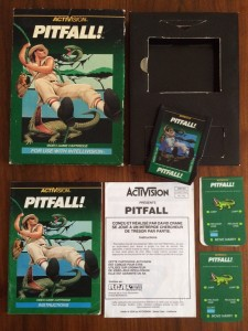 Pitfall - With French instruction