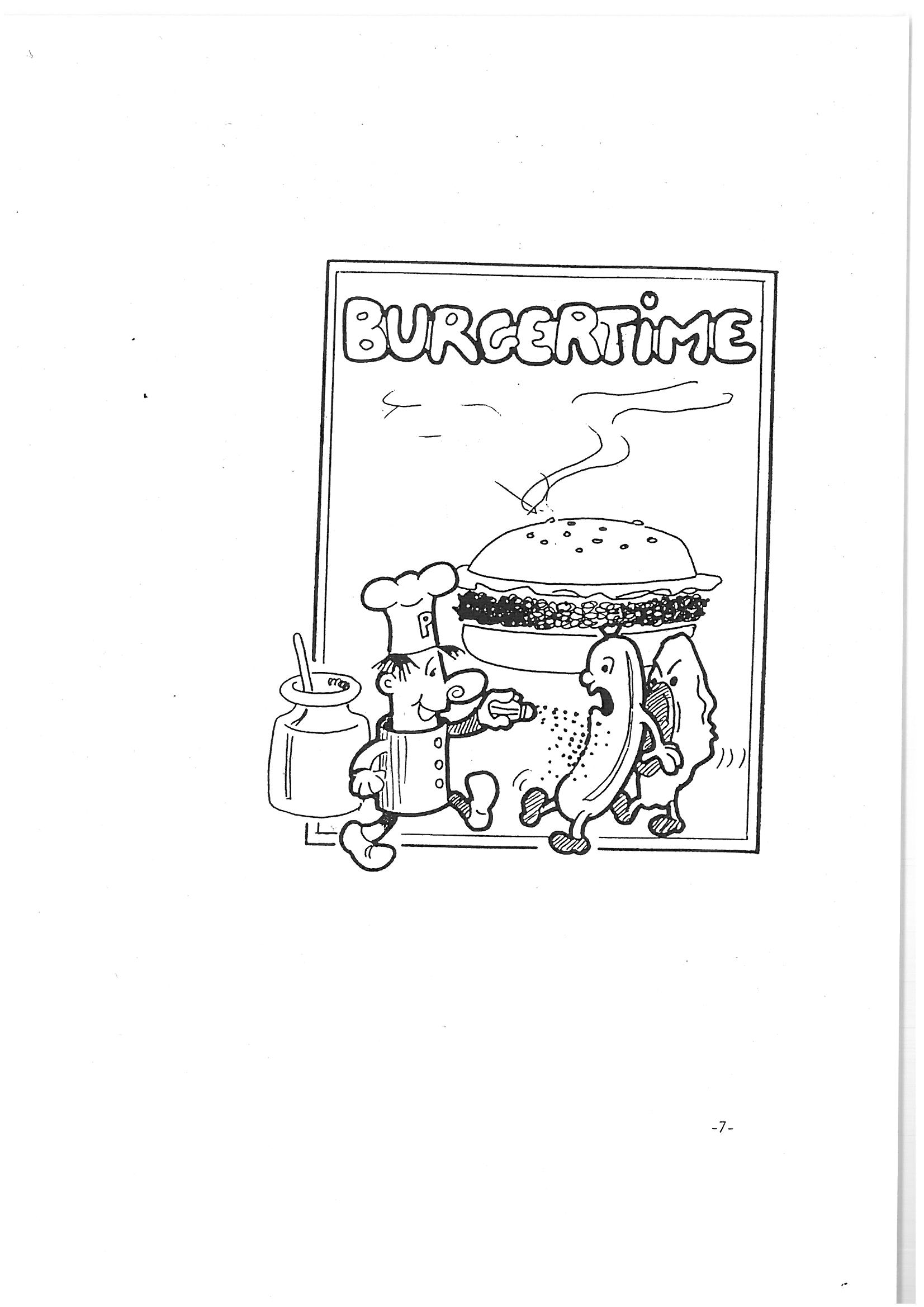 Burgertime for Colecovision